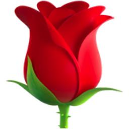 Rose Emoji (U+1F339)