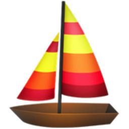 Sailboat emoji