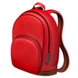 School Backpack Emoji (U+1F392)
