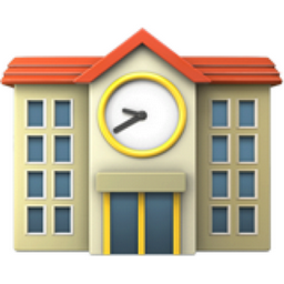 School Emoji (U+1F3EB)