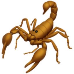 Scorpion Emoji (U+1F982)