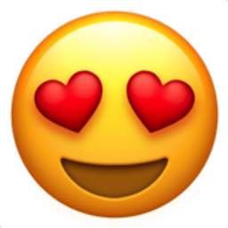 Image result for emoji heart eyes