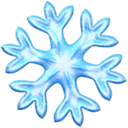Snowflake Emoji (U+2744, U+FE0F)