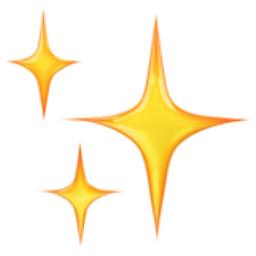 Sparkles Emoji (U+2728)