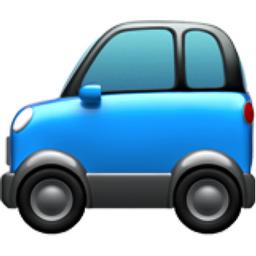 Sport Utility Vehicle Emoji (U+1F699)