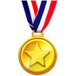 Sports Medal Emoji (U+1F3C5)