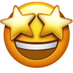 Image result for star struck emoji