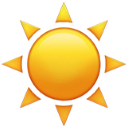 Afbeeldingsresultaat voor emoji sun