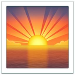 Sunrise Emoji U 1f305