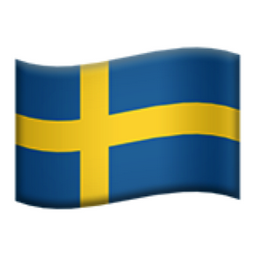 Bildresultat för swedish flag emoji
