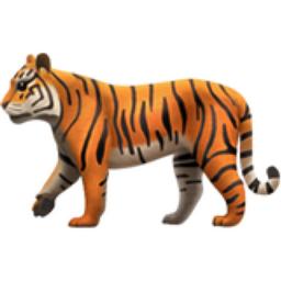 Tiger Emoji U1f405