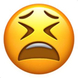 Tired Face Emoji U 1f62b