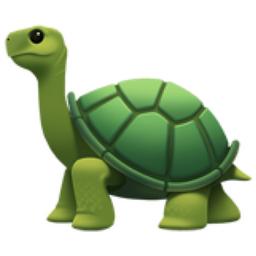 Turtle Emoji (U+1F422)