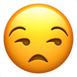 Unamused Face Emoji U1f612