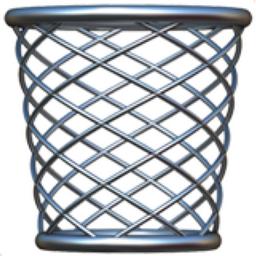 Wastebasket Emoji U 1f5d1