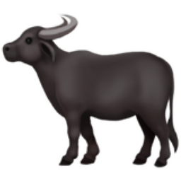 Water Buffalo Emoji (U+1F403)