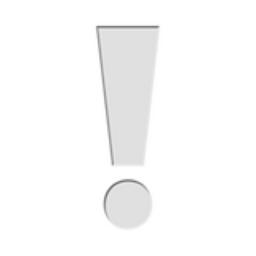 White Exclamation Mark Emoji U 2755