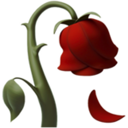 Wilted Flower Emoji U1f940