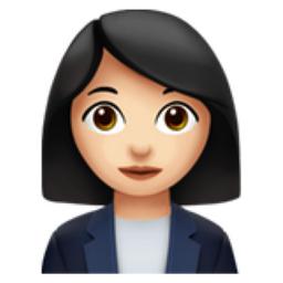 Woman Office Worker Light Skin Tone Emoji U 1f469 U 1f3fb U 0d U 1f4bc