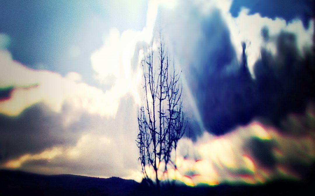 Meri Walker ~ Sweet Blue Glowing Light, Fine Clouds.
