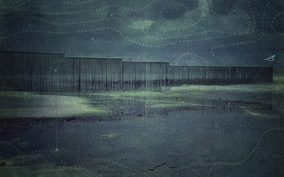 Barbara duBois ~ Mapping the Border