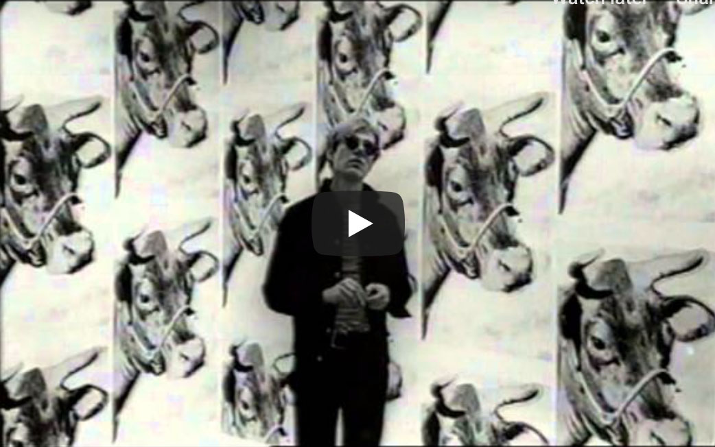 {video} Andy Warhol ~ The Complete Picture