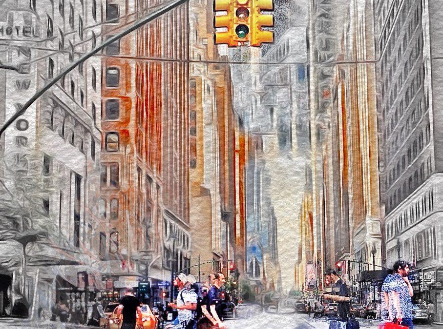 Paul Toussaint ~ Manhattan Street Life