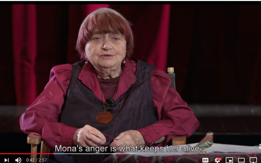 "{video} Agnès Varda on the Making of ""Vagabond"""