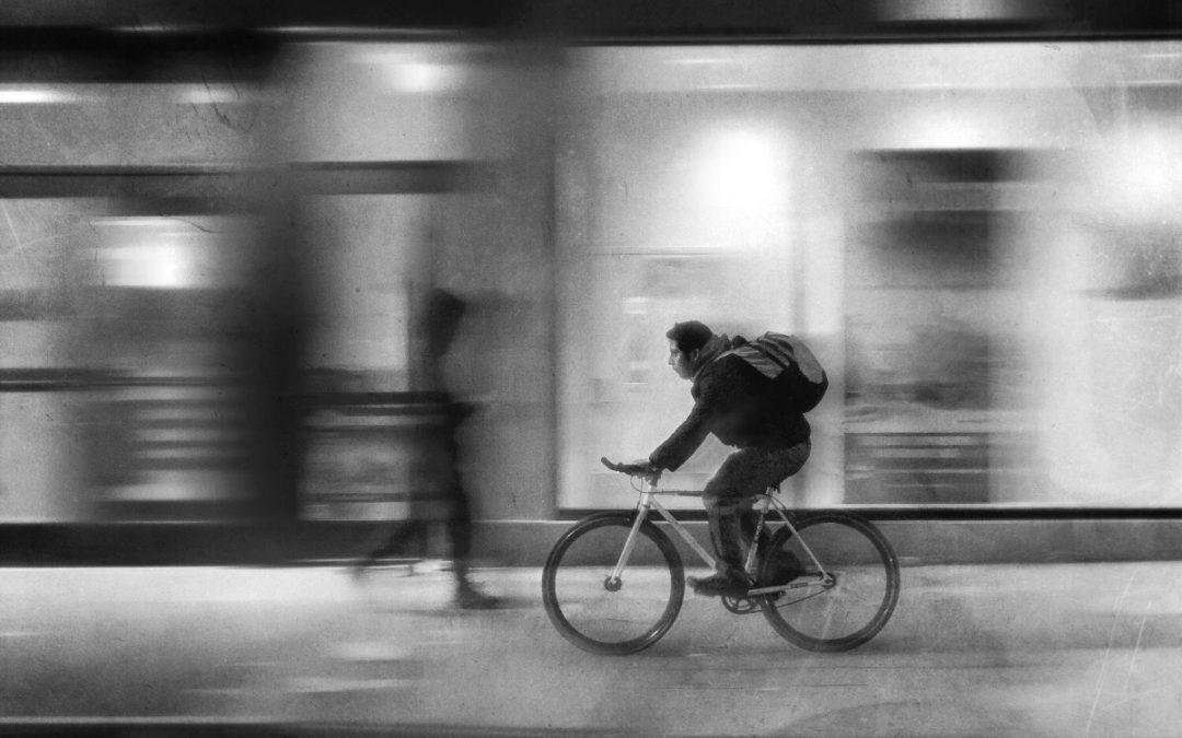 Larry Lefever ~ Morning commute. Philadelphia, PA.