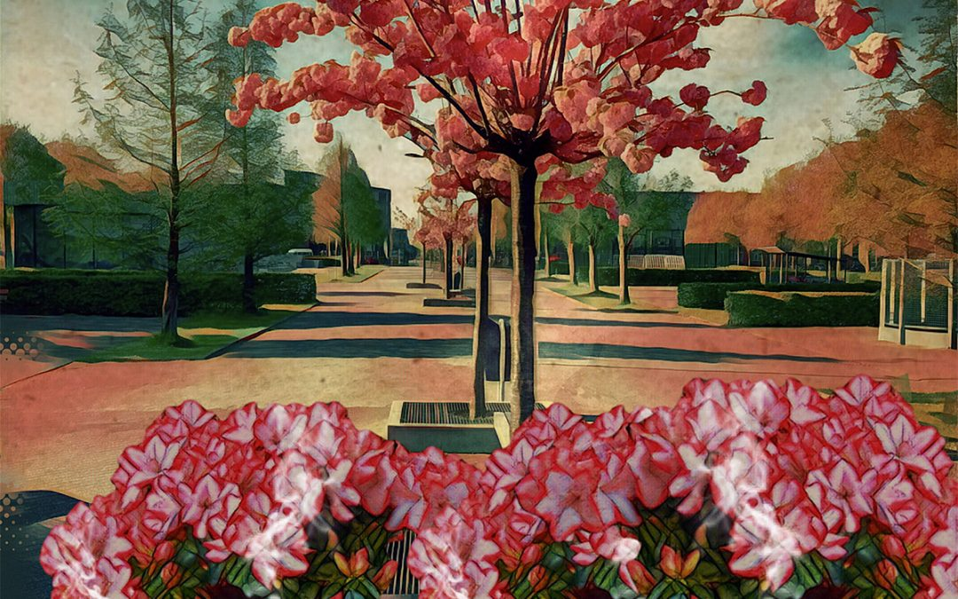 Jan Uiterwijk ~ The praise of spring