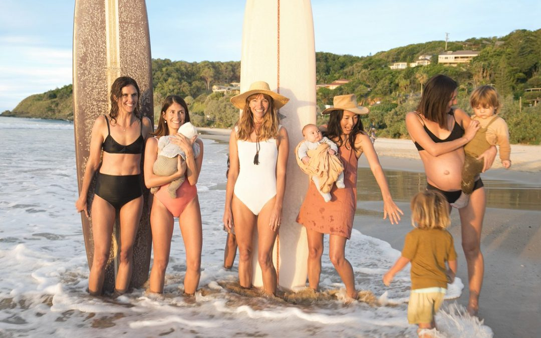 Vanity Fair Article About Instagram Influencer Surfing Moms of Byron Bay, Australia