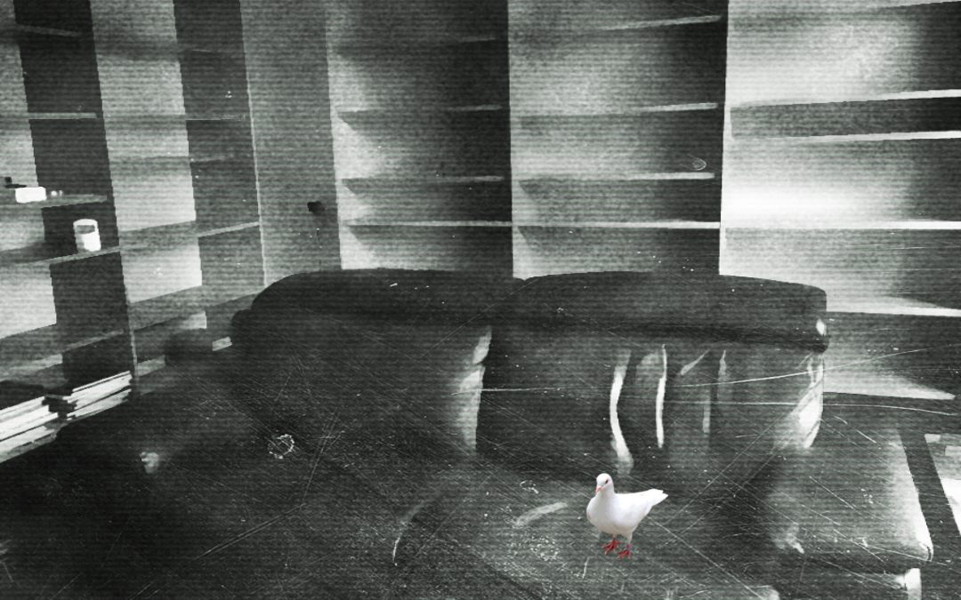 Jan Uiterwijk ~ Sofa scape from all that was left