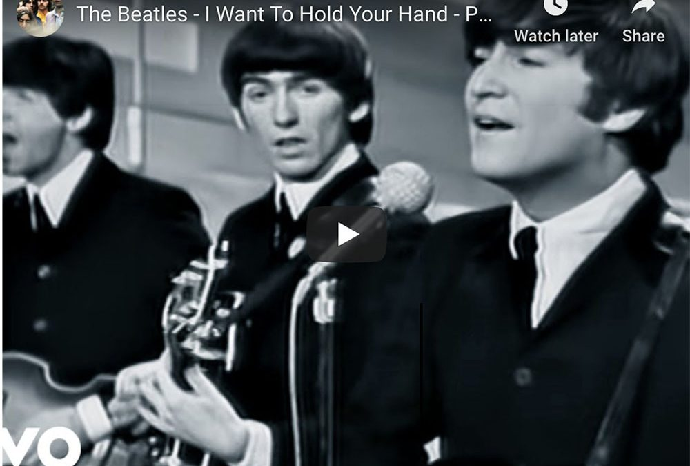 {video} The Beatles ~ I Want To Hold Your Hand
