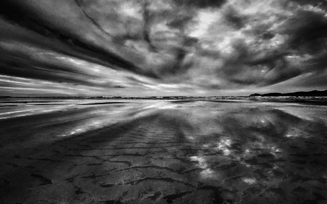Leon Williams ~ Clouds and Reflections on the Kapiti Coast New Zealand.