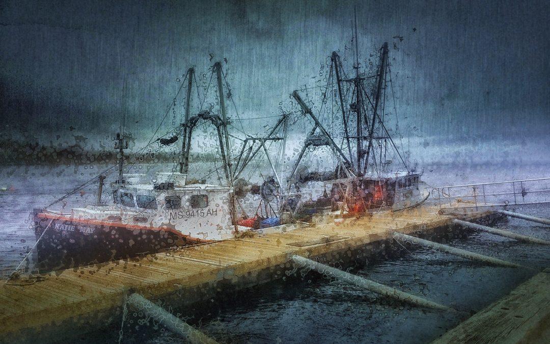Paul Toussaint ~ Fishing Boat Newburyport, MA