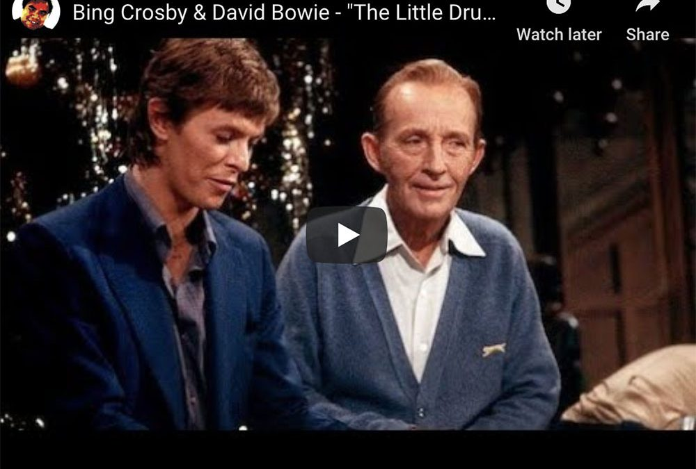 "David Bowie and Bing Crosby Sing ""Little Drummer Boy"""