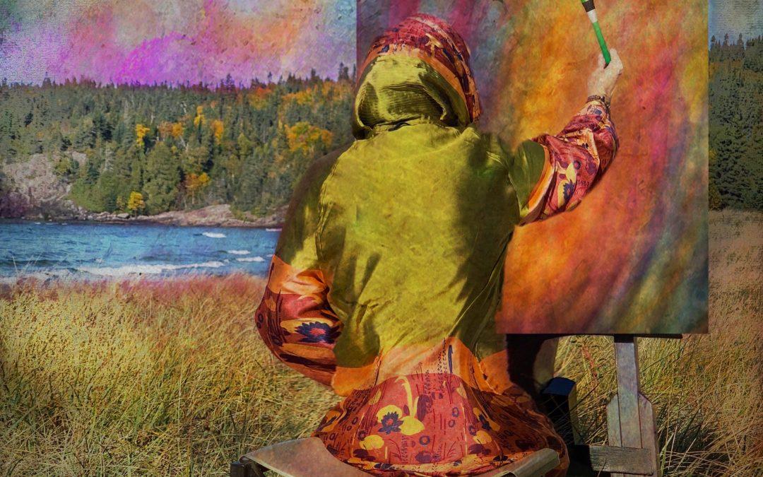 {sunday} Irene Oleksiuk ~ She painted what her mind's eye saw
