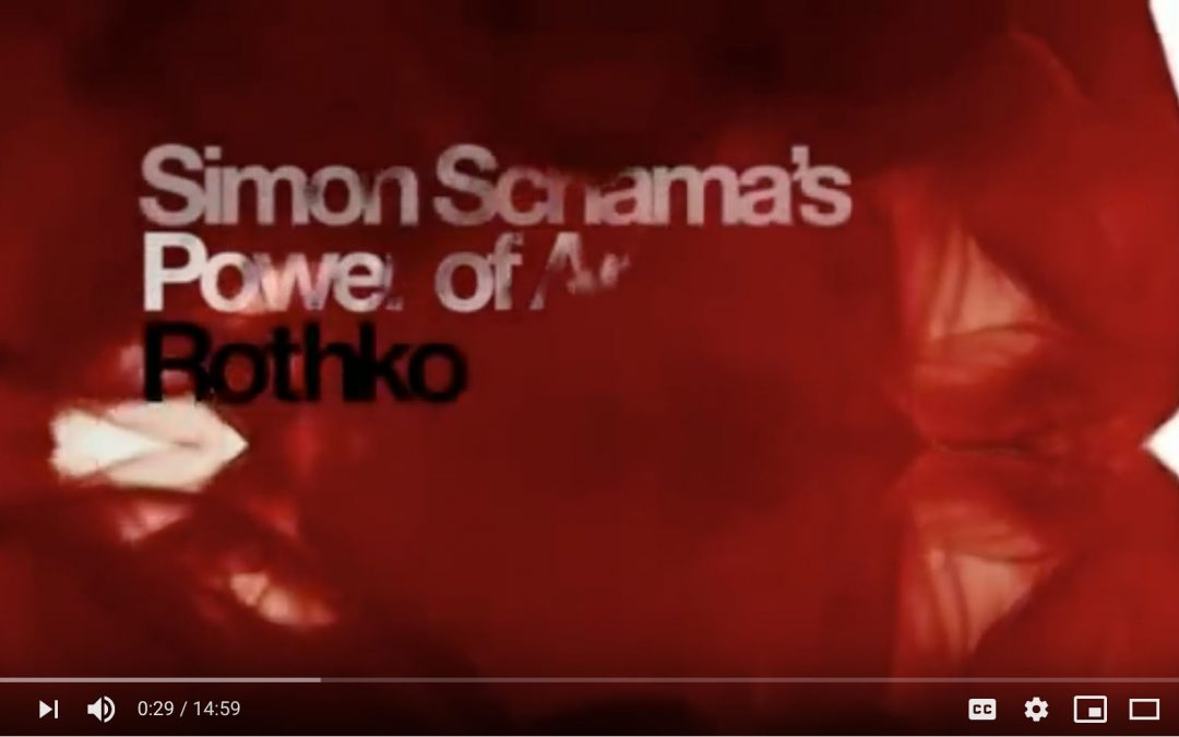 {video} Simon Schama's Rothko Documentary