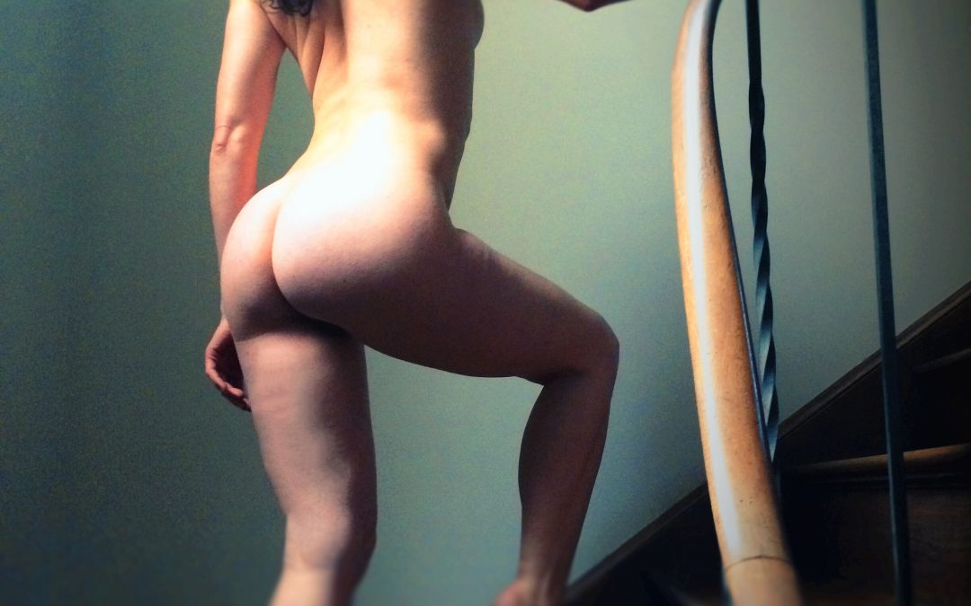 {gallery} On A Nude Ascending A Staircase