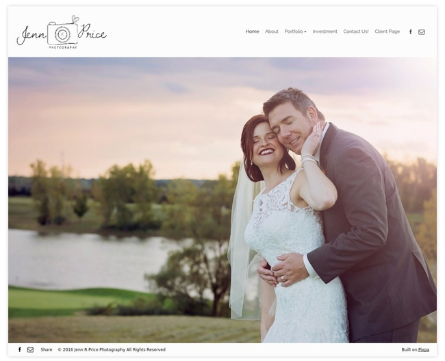 32 Stunning Wedding Photographer Websites For Inspiration