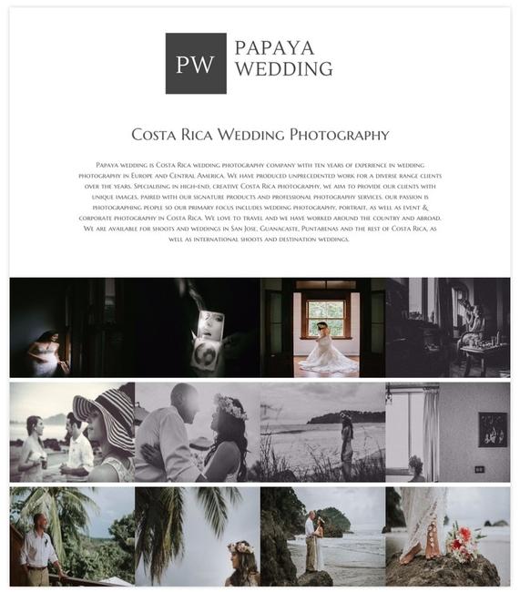 Wedding Photography Websites Inspiration