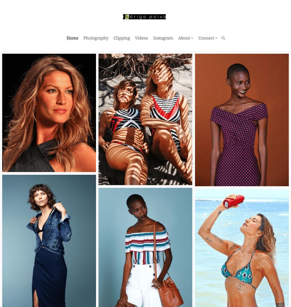 14 Stunning Fashion Portfolio Websites For Inspiration