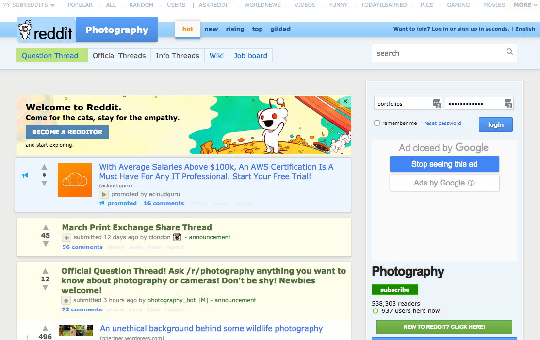Top 25 Online Photography Communities and Forums for