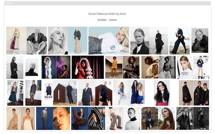Meet 16 Makeup Artists With Stunning Portfolio Websites