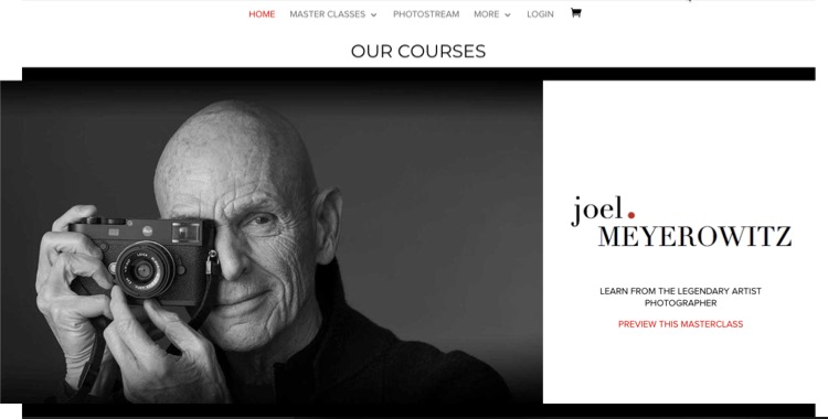 Joel Meyerowitz Masters of Photography Course Online