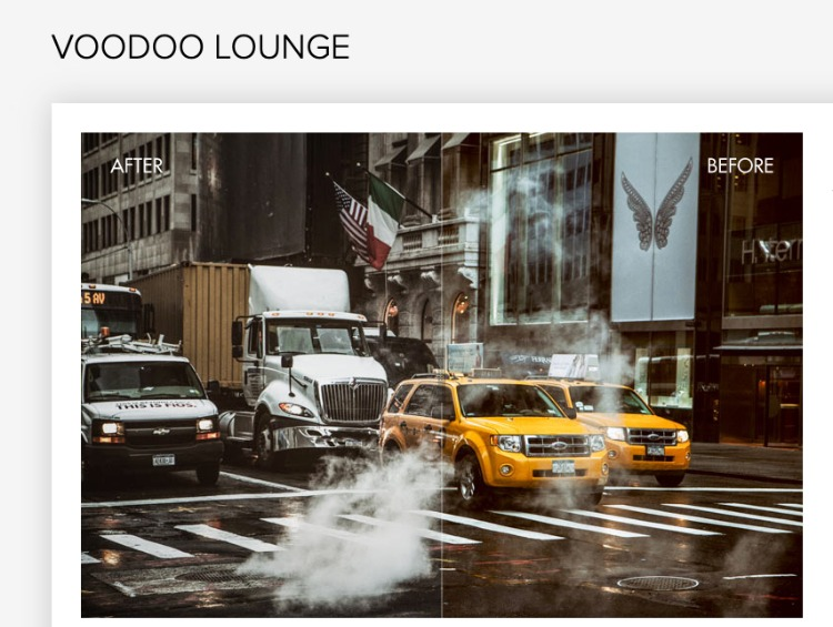 Voodoo Lounge colorful presets