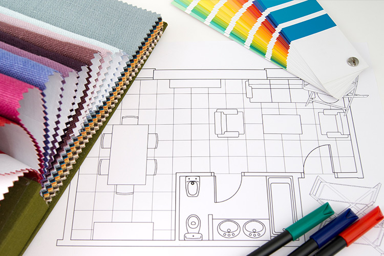 what is the average interior designer salary in 2019