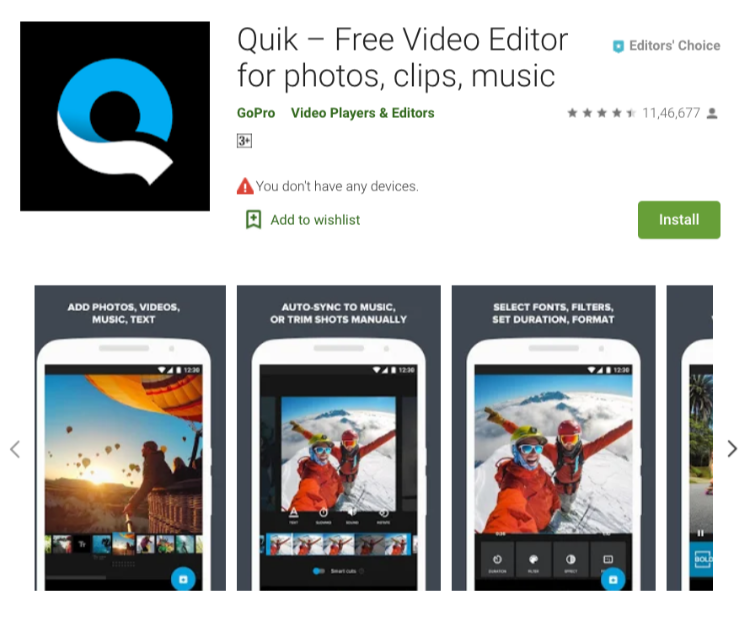 Quick - Free Video Editor