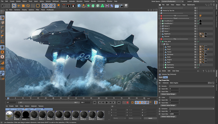Cinema 4d MAXON   3D modeling software