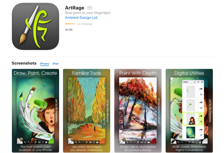 ArtRage - Great drawing app